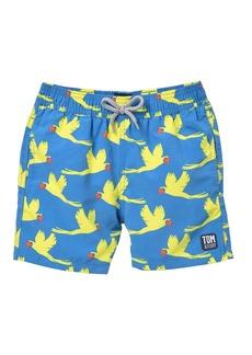 Tom & Teddy Parrot Swim Trunks