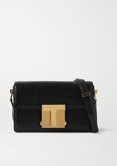 Tom Ford 001 Medium Lizard-effect Leather Shoulder Bag