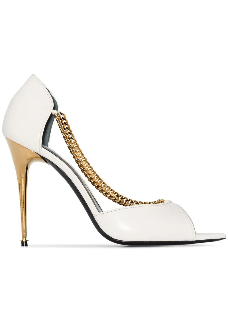 Tom Ford 105mm chain strap sandals
