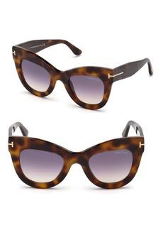 Tom Ford 47MM Karina Cat Eye Sunglasses