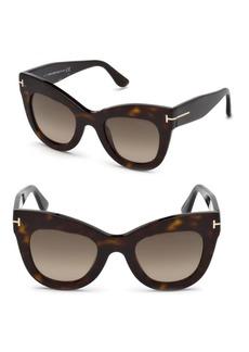 Tom Ford 47MM Karina Cat-Eye Sunglasses