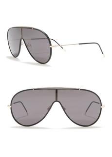 Tom Ford 48mm Metal Aviator Sunglasses