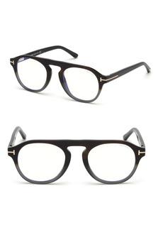 Tom Ford 49MM Soft Round Gradient Optical Eyeglasses