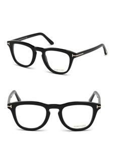 Tom Ford 49MM Square Eyeglasses