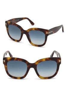 50MM Beatrix Square Sunglasses