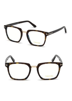 50MM Square Eyeglasses