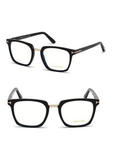 Tom Ford 50MM Square Eyeglasses