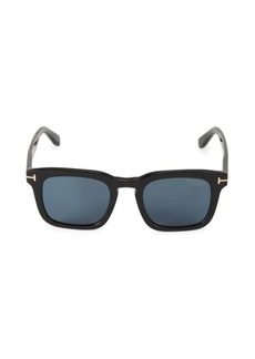 Tom Ford 50MM Square Sunglasses