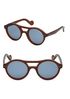 Moncler 51MM Injected Sunglasses