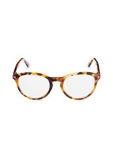 Tom Ford 51MM Round Blue Light Optical Glasses