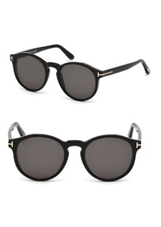 Tom Ford 51MM Round Sunglasses