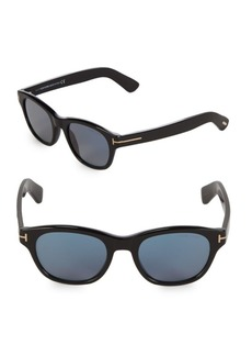 Tom Ford 51MM Square Sunglasses
