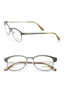 52MM Rectangular Titanium Optical Glasses
