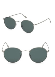Tom Ford Ryan 52MM Round Sunglasses