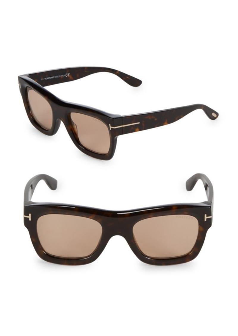 Tom Ford 52MM Square Sunglasses