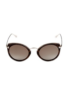 Tom Ford 53MM Cat Eye Sunglasses