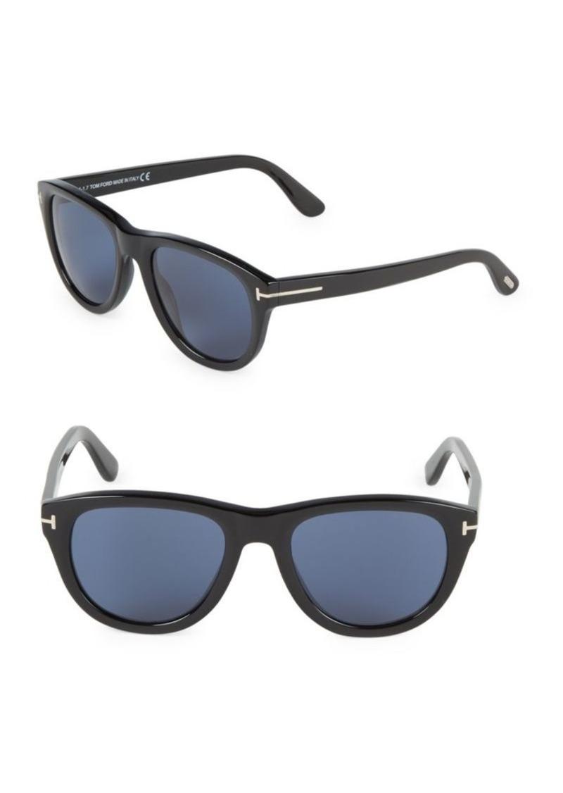Tom Ford 53MM Round Sunglasses
