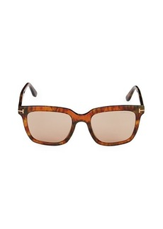 Tom Ford 53MM Square Sunglasses