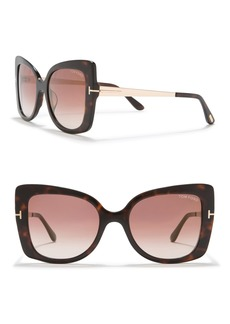 Tom Ford 54mm Gianna Sunglasses