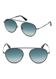 Tom Ford Keith 55MM Aviator Sunglasses