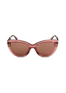Tom Ford 55MM Cat Eye Sunglasses