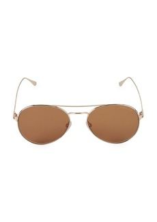 Tom Ford 55MM Wire Aviator Sunglasses