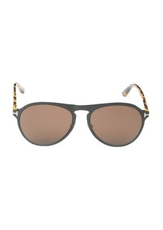 Tom Ford 56MM Aviator Sunglasses