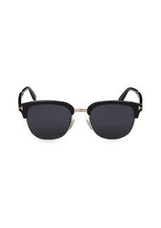 Tom Ford 56MM Half-Frame Sunglasses