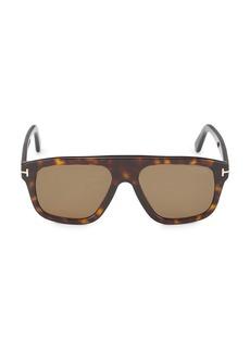 Tom Ford 56MM Plastic Pilot Sunglasses