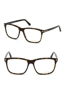 56MM Square Eyeglasses