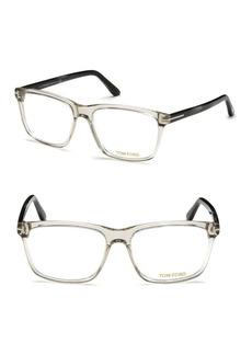 Tom Ford 56MM Square Eyeglasses