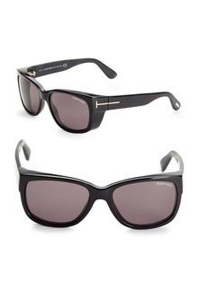 Tom Ford 56MM Square Sunglasses