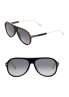 Tom Ford 57MM Injected Sunglasses