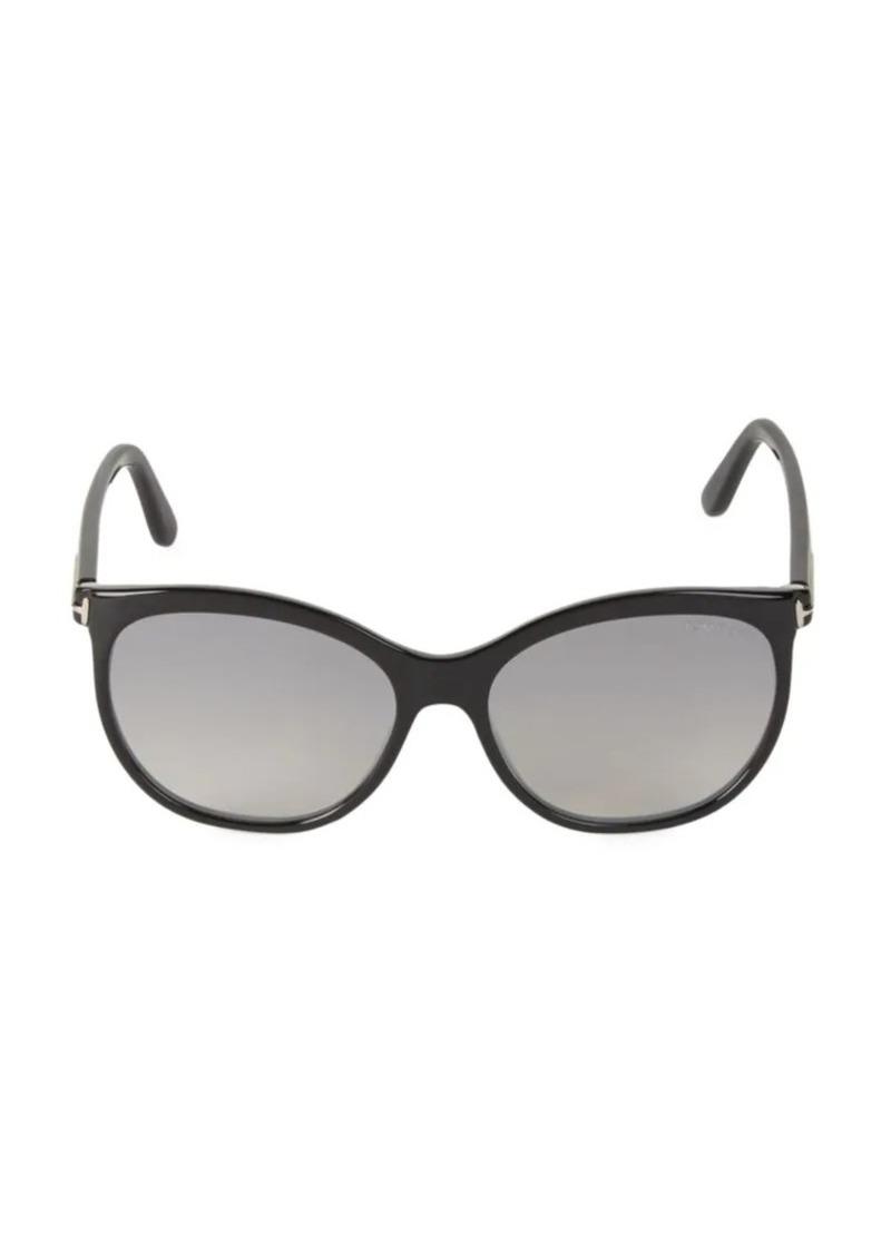 Tom Ford 57MM Round Sunglasses