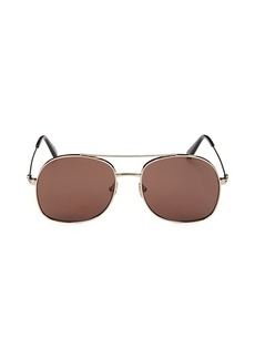 Tom Ford 58MM Square Sunglasses