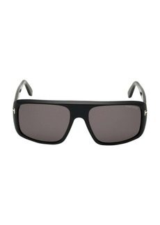 Tom Ford 59MM Shield Sunglasses