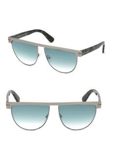 Tom Ford Stephanie 60MM Aviator Sunglasses