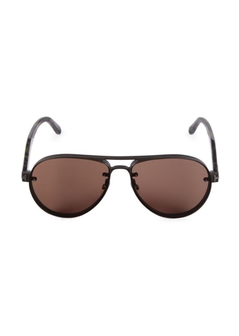 Tom Ford 62MM Aviator Sunglasses