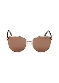 Tom Ford 62MM Cat Eye Sunglasses