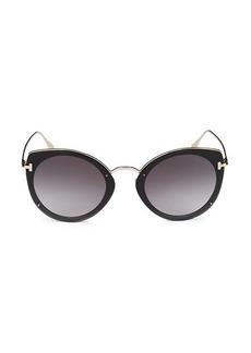 Tom Ford 63MM Cat Eye Sunglass