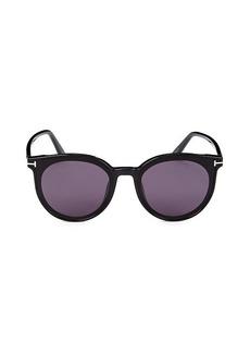Tom Ford 63MM Round Sunglasses