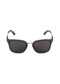 Tom Ford 66MM Injected Square Sunglasses
