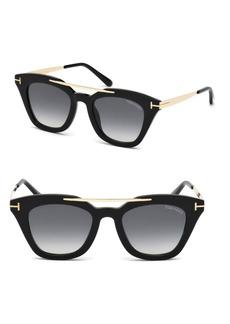 Tom Ford Anna Cat Eye Sunglasses