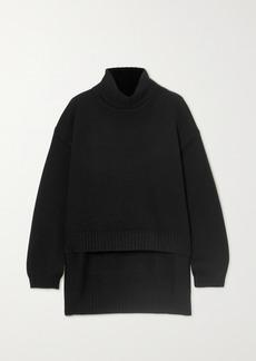 Tom Ford Asymmetric Cashmere Turtleneck Sweater
