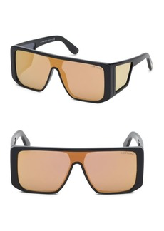 Tom Ford Atticus Geometric Shield Sunglasses