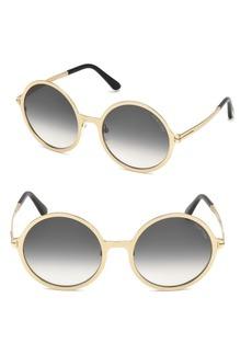 Tom Ford Ava Round Sunglasses