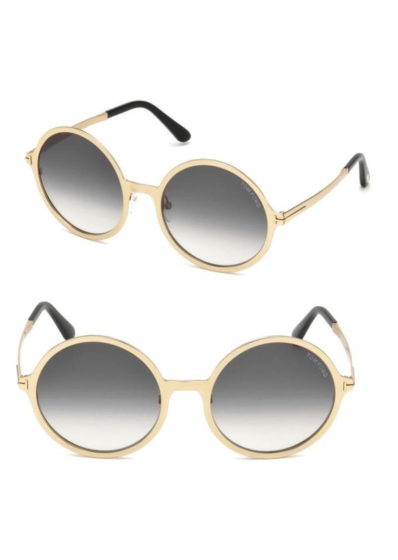 74423d37123 Tom Ford Ava Round Sunglasses