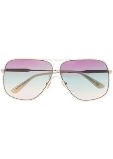 Tom Ford Brady aviator-frame sunglasses