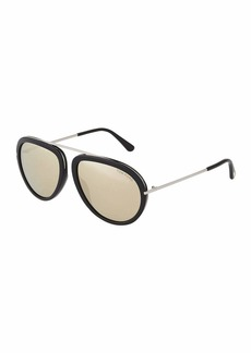 Tom Ford Aviator Metal Sunglasses