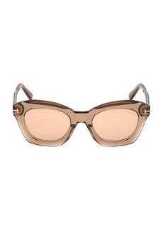Tom Ford Bardot 53MM Butterfly Sunglasses